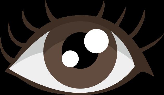 1月3日ひとみの日のイラスト-瞳