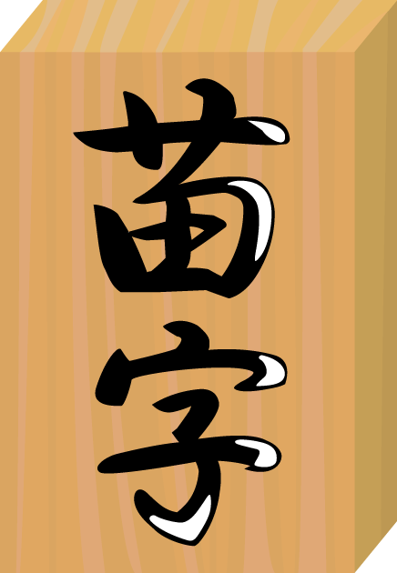 2月13日苗字制定記念日のイラスト-表札