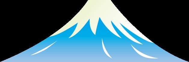 2月23日富士山の日のイラスト-富士山と日の出