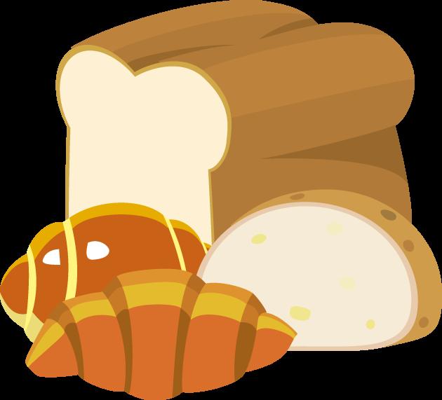 4月12日パンの記念日のイラスト-パン