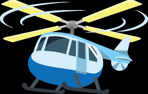 4月15日ヘリコプターの日のイラスト-ヘリコプター