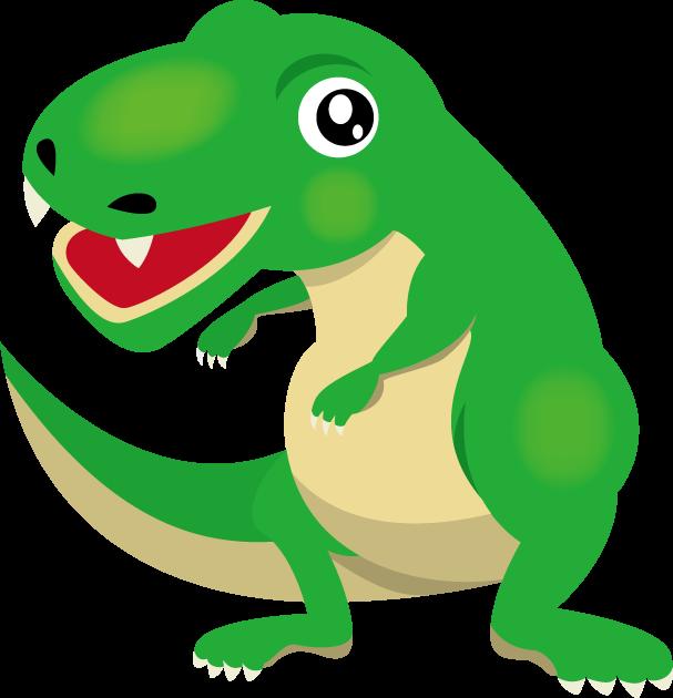 4月17日恐竜の日のイラスト-恐竜