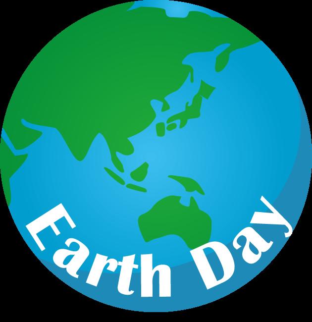 4月22日地球の日(アースデー)のイラスト-地球