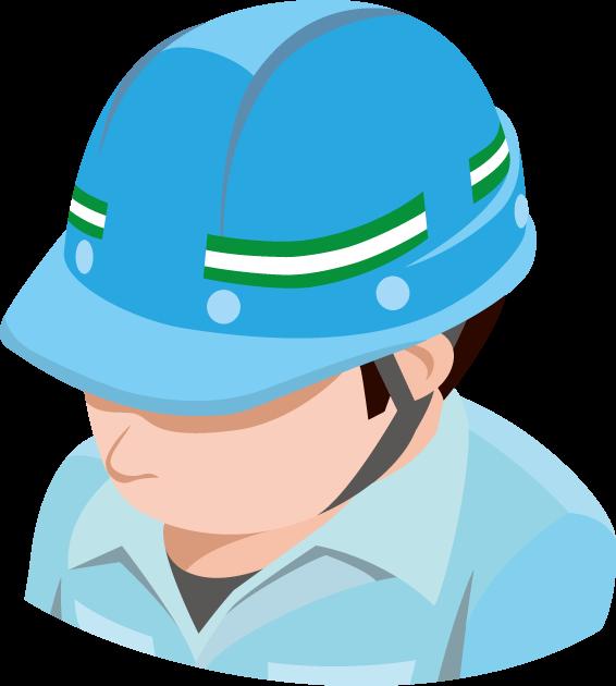 4月28日労働安全衛生世界デーのイラスト-安全ヘルメット