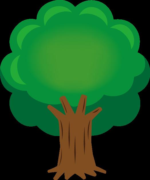 5月4日緑の日のイラスト-大木
