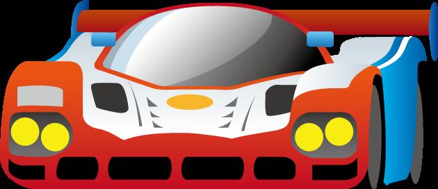 5月26日ルマンの日のイラスト-レーシングカー