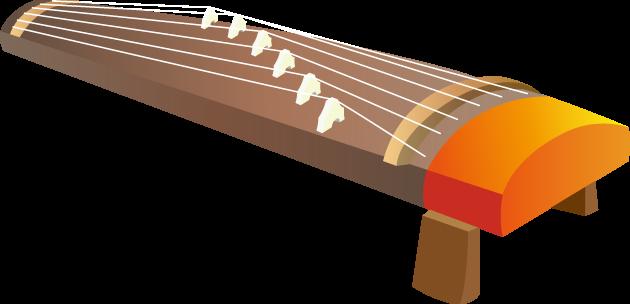 6月6日邦楽の日のイラスト-琴