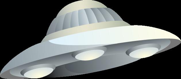 6月24日空飛ぶ円盤記念日のイラスト-UFO