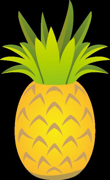 8月17日パイナップルの日のイラスト-パイナップル