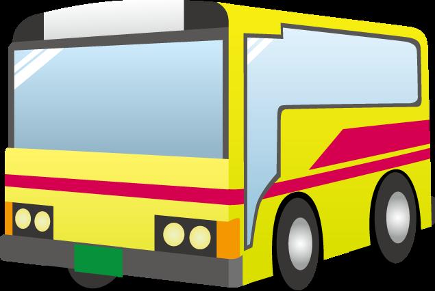 9月20日バスの日のイラスト-バス