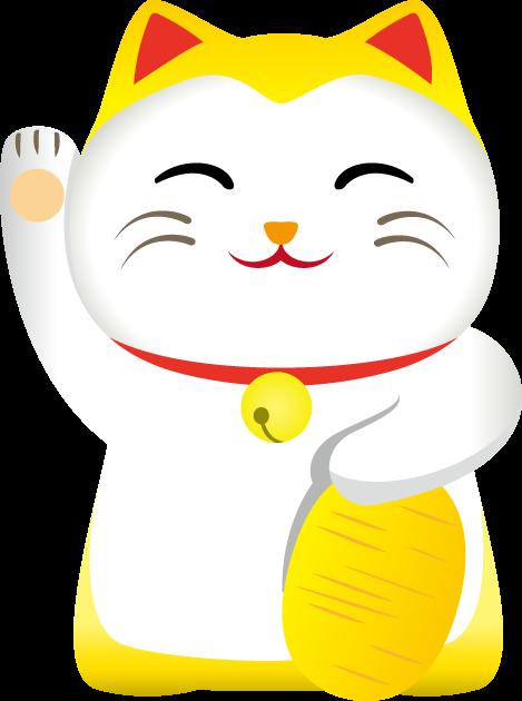 9月29日招き猫の日のイラスト-招き猫