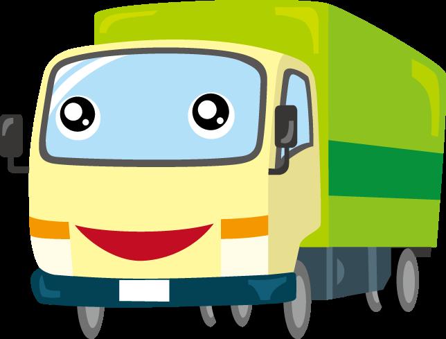 10月9日トラックの日のイラスト-トラック