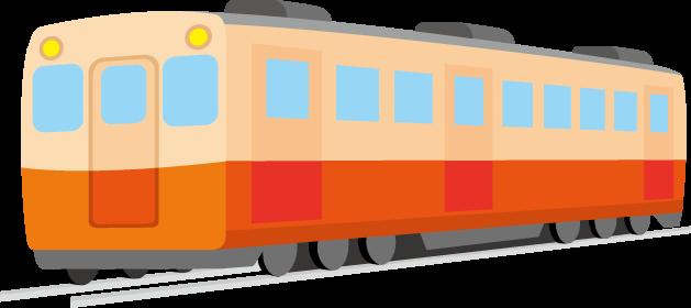 10月14日鉄道の日のイラスト-列車