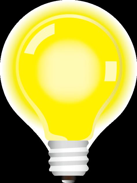10月21日あかりの日のイラスト-電球