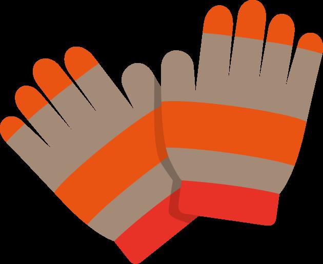 10月29日手袋の日のイラスト-手袋