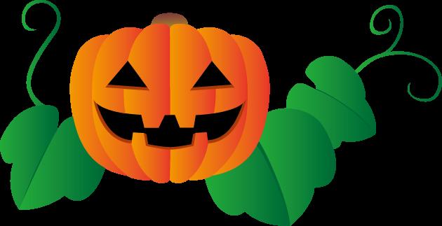 10月31日ハロウィンのイラスト-ジャック・オー・ランタン