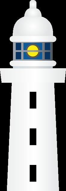 11月1日灯台記念日のイラスト-灯台