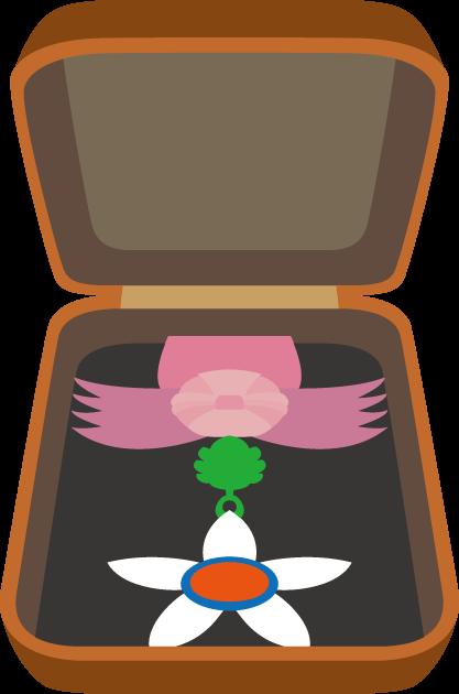 11月3日文化の日のイラスト-文化勲章