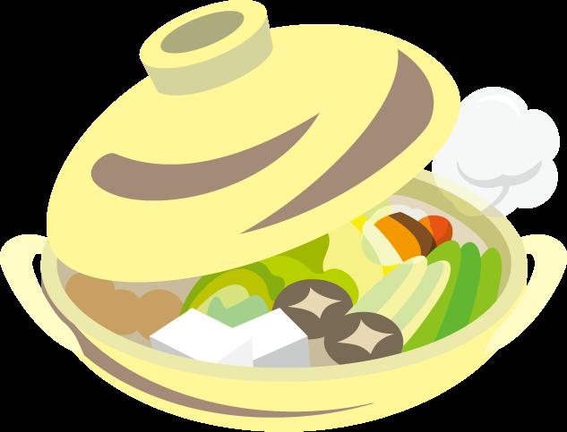 11月7日鍋の日のイラスト-鍋物