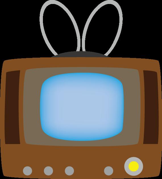 11月21日世界テレビデーのイラスト-昔のテレビ