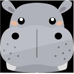 動物アイコンno16 ビジソザ