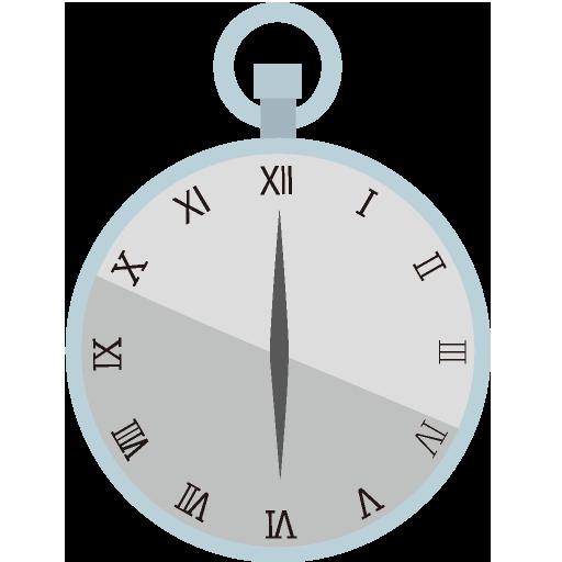 時計アイコンno06 ビジソザ