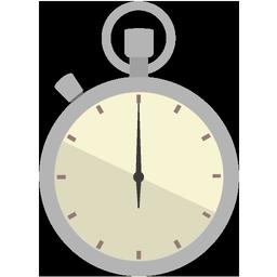 時計アイコンno11 ビジソザ