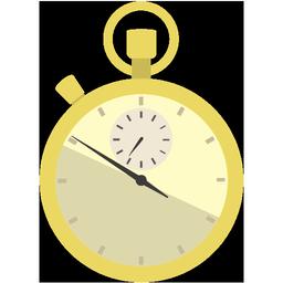 時計アイコンno12 ビジソザ