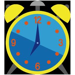 時計アイコンno15 ビジソザ