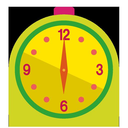 置時計のイラスト
