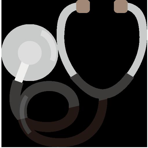 聴診器のイラスト