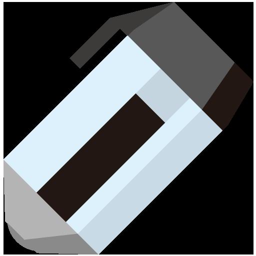 黒ボールペンのイラスト