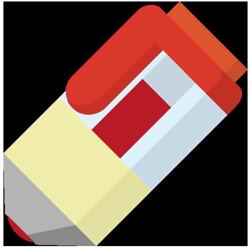 赤ボールペンのイラスト