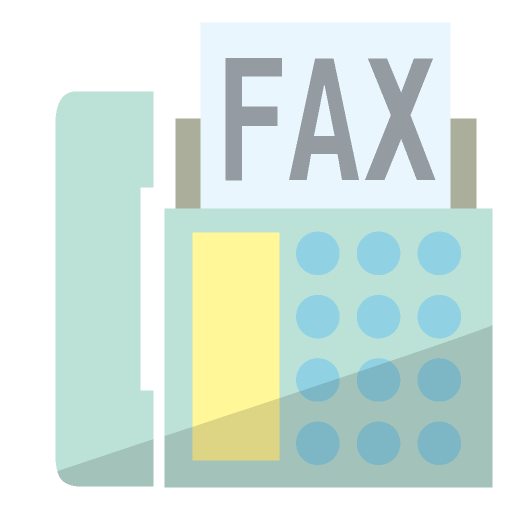 FAXのイラスト