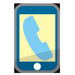 電話アイコンno12 ビジソザ