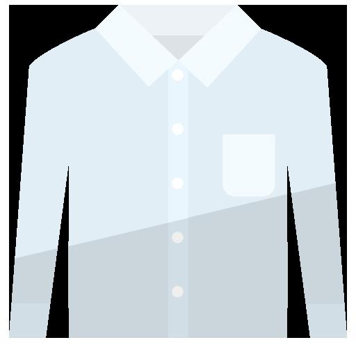 長袖ワイシャツのイラスト