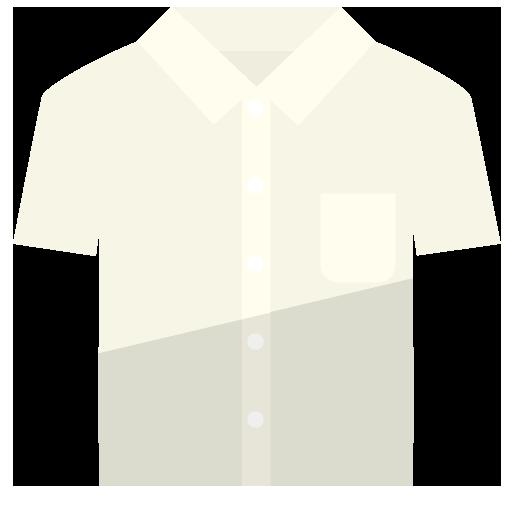 半袖ワイシャツのイラスト
