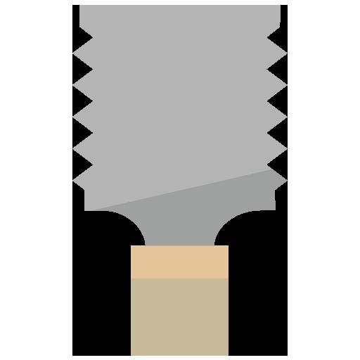 両刃のこぎりのイラスト