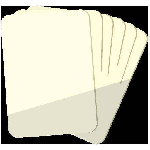 トランプなどのカードゲームのイラスト