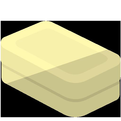 粘土が入った粘土箱のイラスト