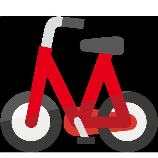 自転車側面のイラスト