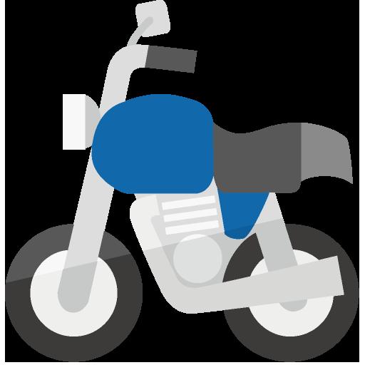 バイク側面のイラスト