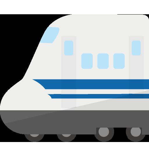 新幹線側面のイラスト
