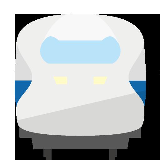 新幹線正面のイラスト
