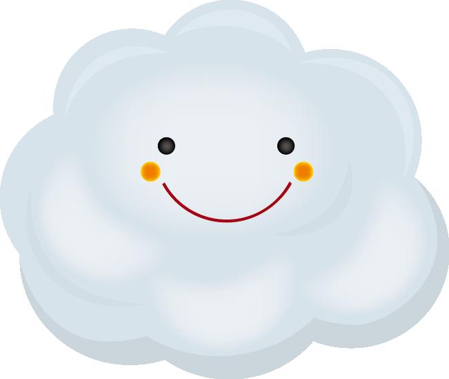 雲のイラスト