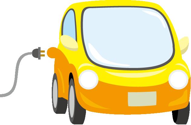 EV車のイラスト