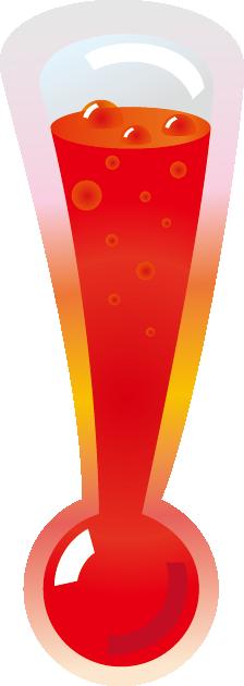 高温のイラスト