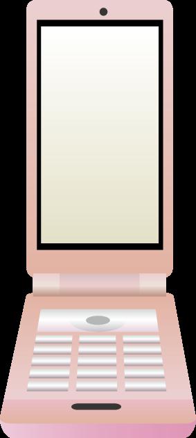 携帯のイラスト
