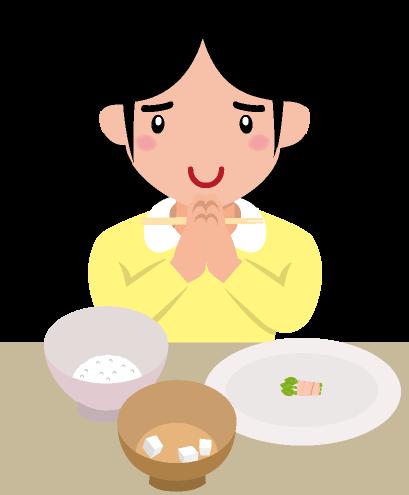 食事制限のイラスト