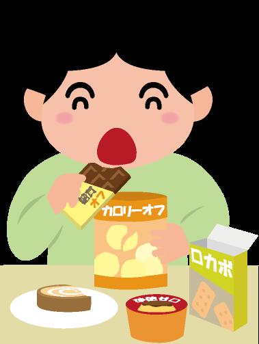 ダイエット食品のイラスト